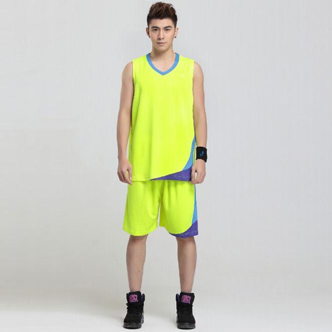 励扬男款篮球服套装定做生产