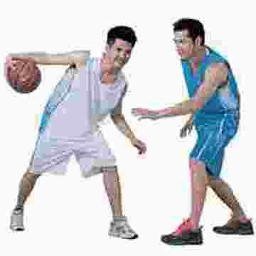 干爽透气篮球运动服定做生产