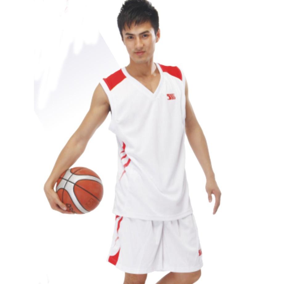 兰狮篮球服团购款 吸湿排汗篮球