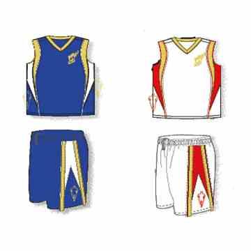 <b>大学生运动服式篮球套服 男子篮</b>