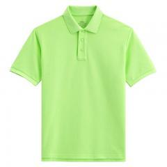 青苹果绿色经典POLO衫男士短袖定