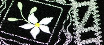 绣花工艺-链目绣